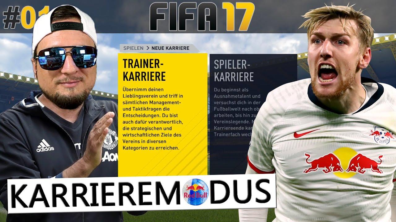 RETRO FIFA 17: START TRAINERKARRIERE RB LEIPZIG ⚽️ (Fifa 17 Karriere #01) -Deutsch-