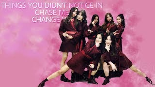 [ Dreamcatcher ] Things you didn't notice in chase me change ver