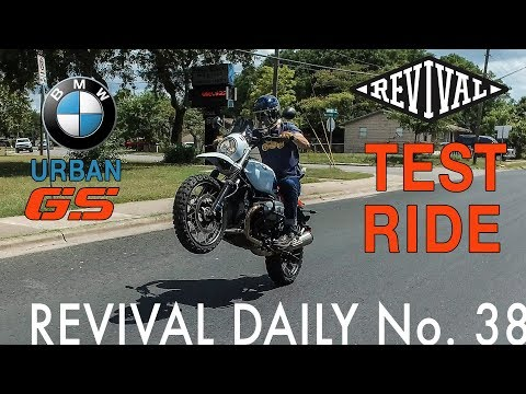 Alan test rides the new BMW Urban GS // Revival Daily No. 38