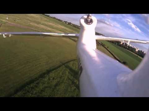 Second Flight with my Bixler 2 at Leisure Park Lübars in Berlin