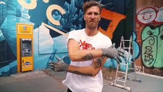 Jaegermeister Mural by HRVB at Haubentaucher Berlin Streetart Urban Art Videoproduktion Berlin