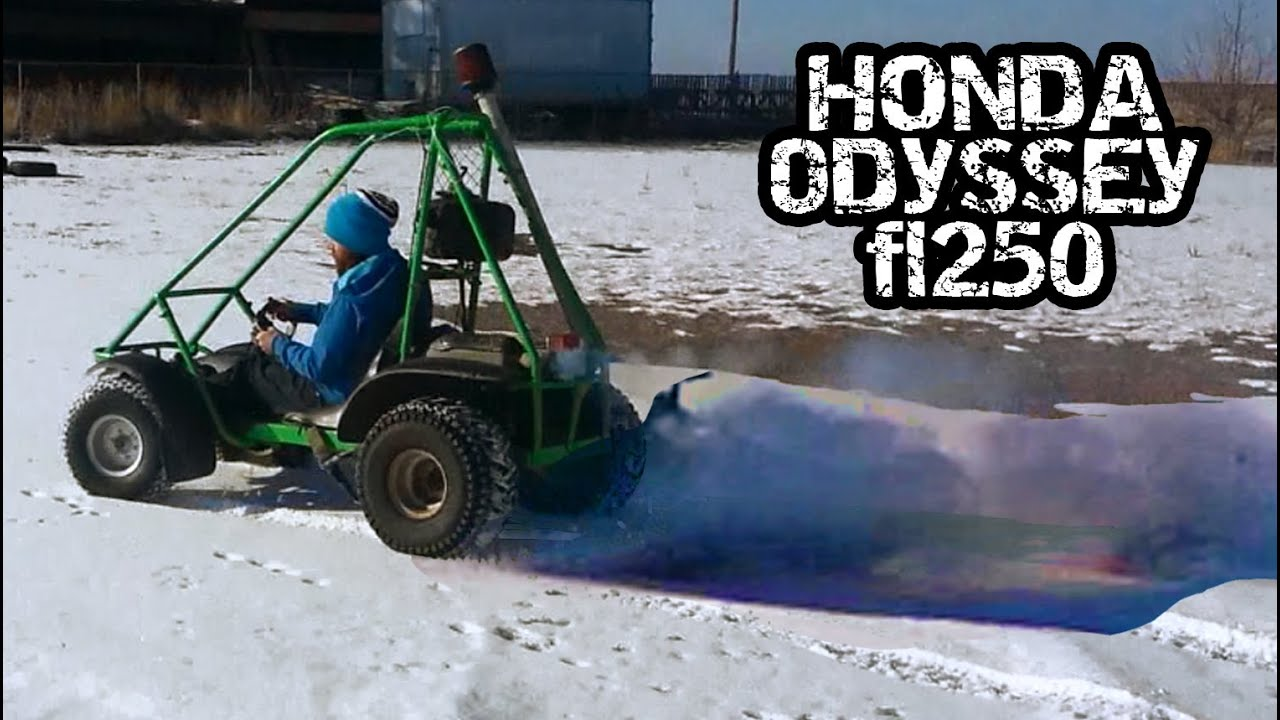 honda odyssey fl250   youtube