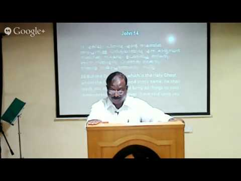 Pastor Abraham  at Hall of  Life 20-06-2014