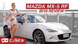 2018 Mazda MX-5 RF Review   CarTell.tv