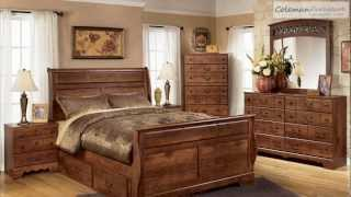 Timberline Sleigh Bedroom Collection From Signature Design By Ashley