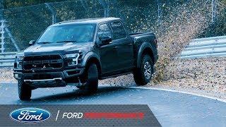 Vaughn Gittin Jr. Drifts Nurburgring in Ford Raptor | Ford Performance