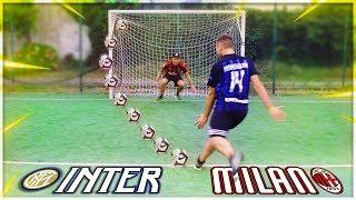 INTER vs MILAN AL CAMPETTO!!! CHI VINCERÀ? ► DERBY DI MILANO CHALLENGE CON GAZ & MENZO!!! [SePPi] ᴴᴰ