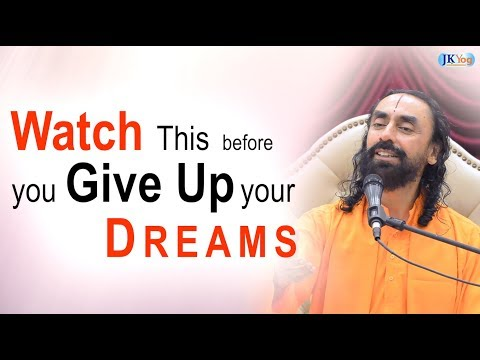 WATCH This Before You Give Up Your Dreams - The Story of a Yogi | Swami Mukundananda