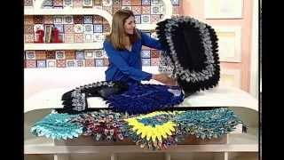 Artesanato – Outro modelo de tapete de seda