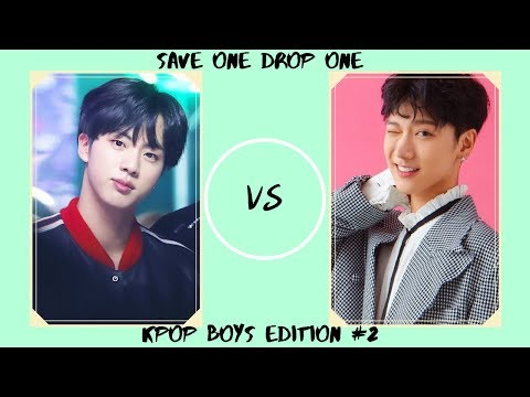 Save One Drop One Kpop Boys Edition Challenge #2