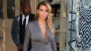 Kim Kardashian Causes Paparazzi Anarchy In West Hollywood [2013]