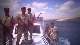 شاهد أسود الجيش المصرى تحرس قناة السويس الجديدة