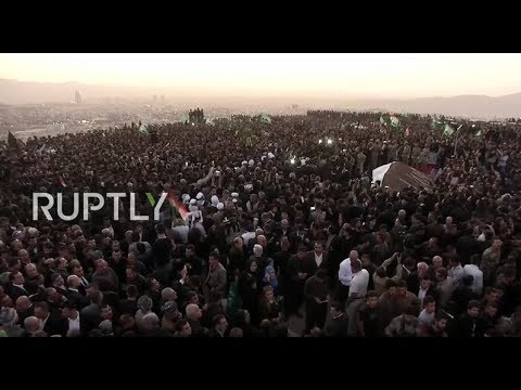 LIVE: Jalal Talabani's funeral held at the Grand Mosque of Sulaymaniyah part II