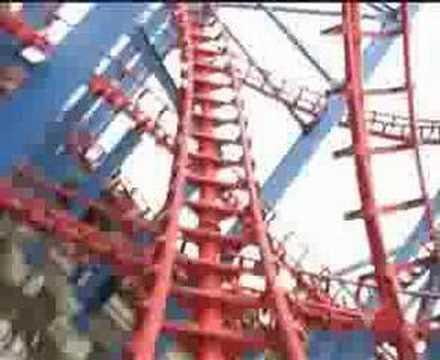 rollercoaster   Xpress Walibi World