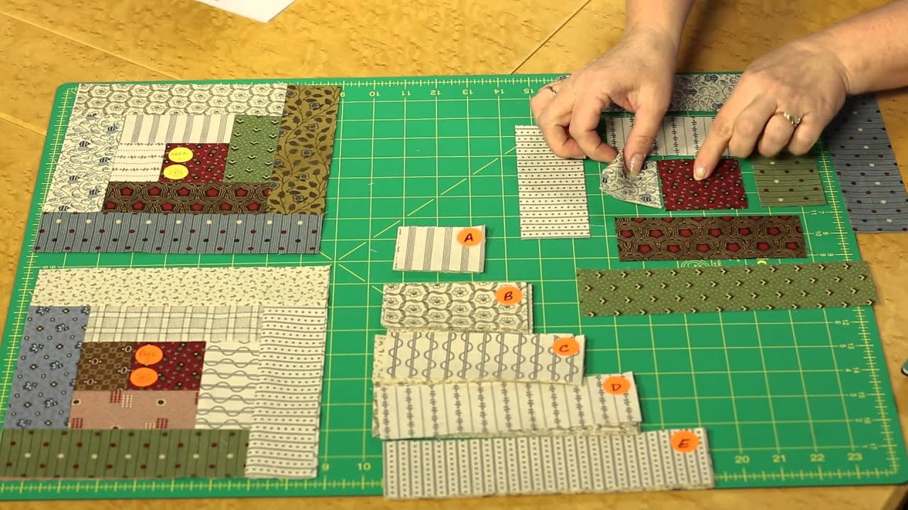 Log Cabin Layouts | Quilting Quickly Sunshine Shadows Log Cabin Layouts Youtube