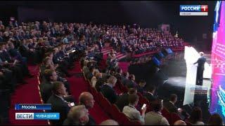 Смотреть видео Михаил Игнатьев принял участие в медународном форуме «Транспорт России» онлайн