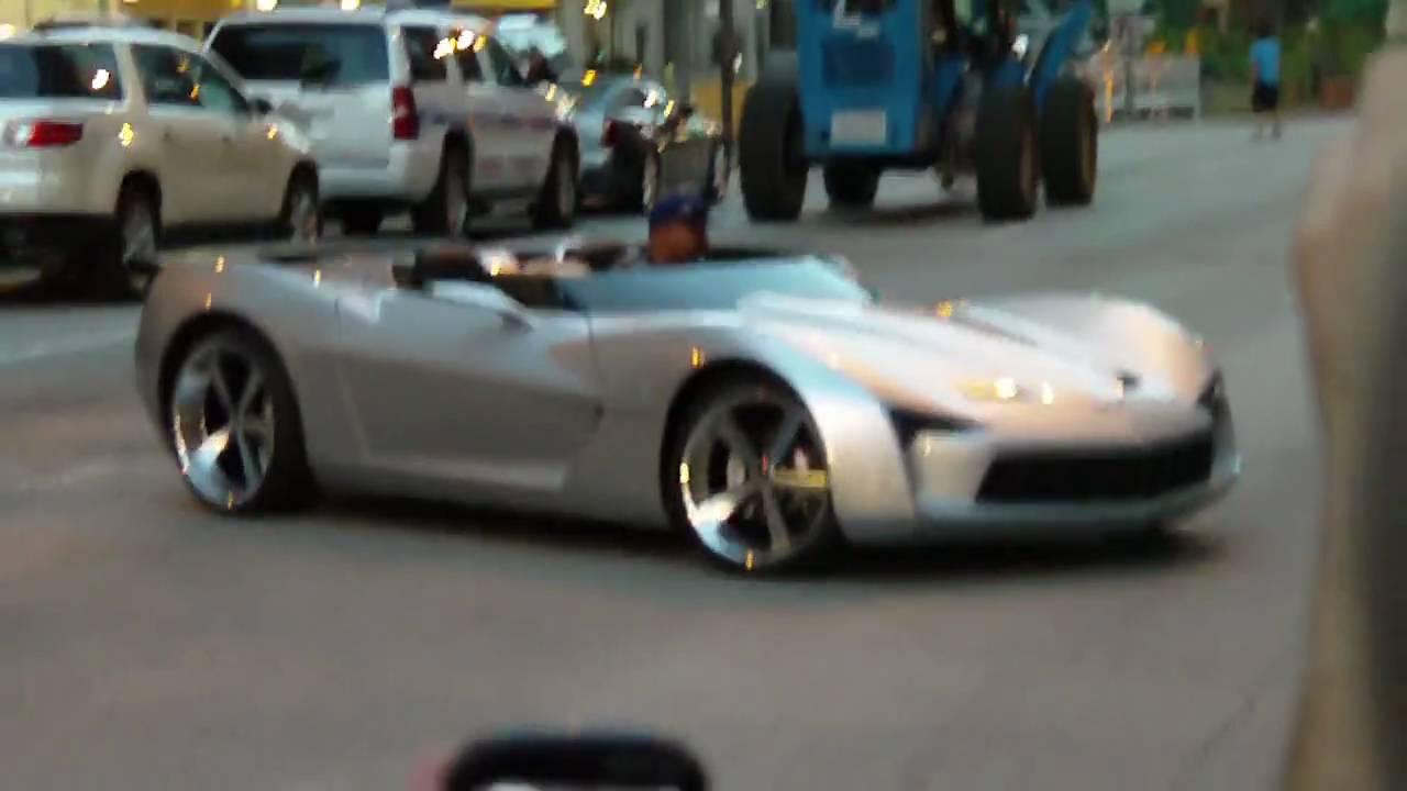 Droptop Corvette Stingray Transformers 3 Youtube