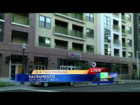 New luxary apartments open in Sacramento