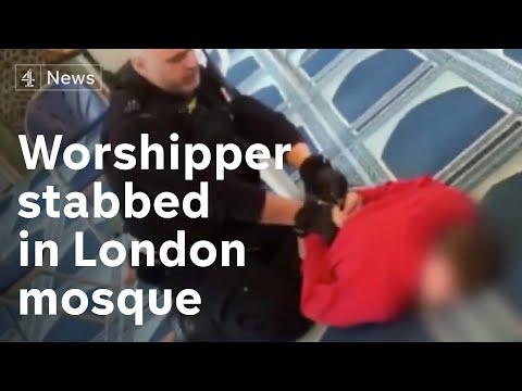 London Central Mosque Attack: man arrested as worshipper stabbed