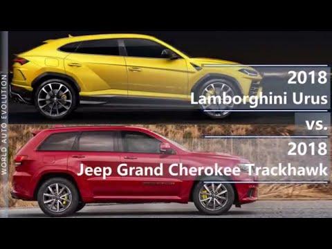 2018 Lamborghini Urus vs 2018 Jeep Grand Cherokee Trackhawk (technical comparison)