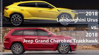 2018 Lamborghini Urus vs 2018 Jeep Grand Cherokee Trackhawk (technical comparison)