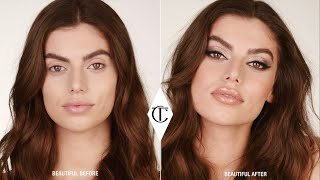 How To Get The Rock Chick Look with Smokey Silver Eyeshadow - 10 Iconic Looks | Charlotte Tilbury
