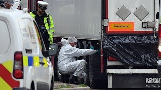 British police arrest 5 suspects after 39 migrants found dead in truck