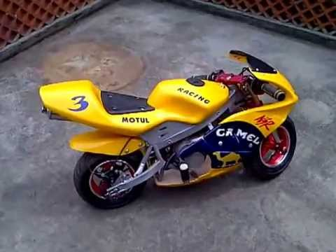 pocket bike 49cc youtube. Black Bedroom Furniture Sets. Home Design Ideas