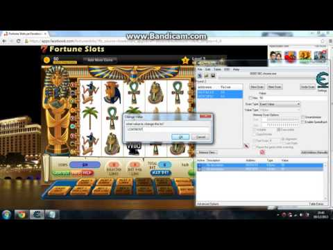 Cheat engine 6.2 for Fortune Slots