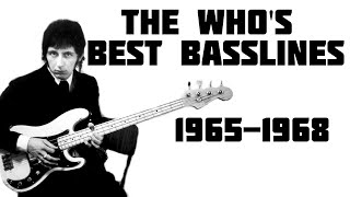 The Who's Best Basslines (1965-1968)