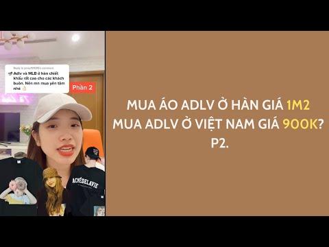 Mua áo ADLV ở Hàn mắc hơn so với ở Việt Nam? P.2    Tê Linh #Shorts