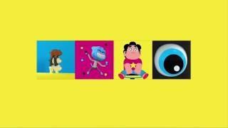Cartoon Network - CN Dimensional Bumper - Shift (Yellow Version)