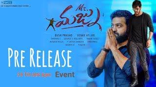 Jr NTR to Akhil Mr Majnu Movie Pre Release Event