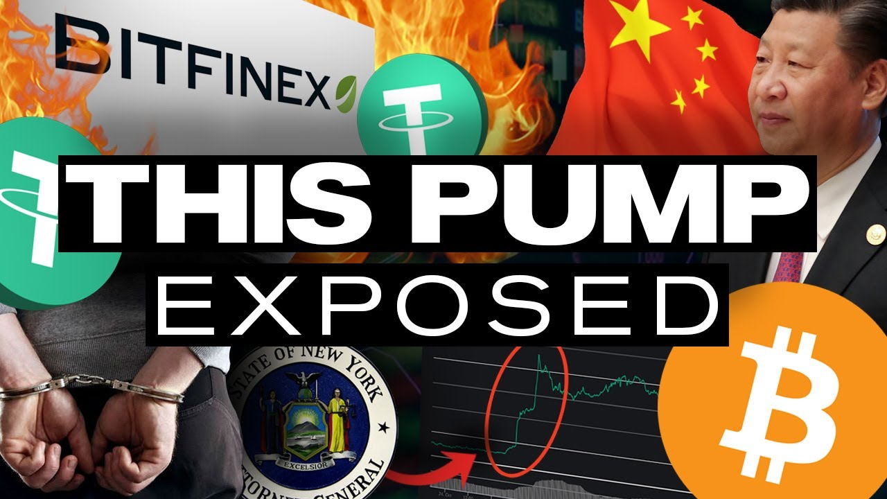 REAL Reason for the PUMP! Not China but TETHER & This Runs DEEP!