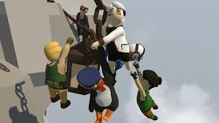 Human Fall Flat with eight players is eight players too many