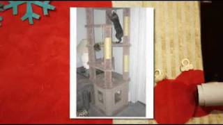 Build Your Own Cat Tree For Christmas