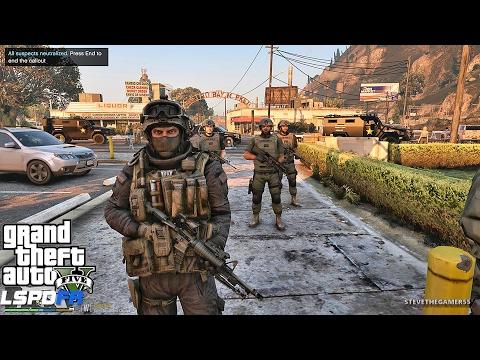 GTA 5 LSPDFR 0.3.1 - EPiSODE 355  - LET'S BE COPS - SHERIFF SWAT PATROL (GTA 5 REAL LIFE POLICE MOD)