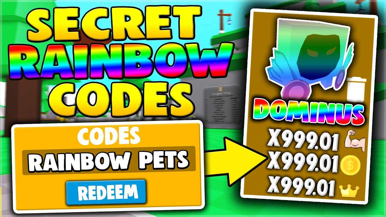 All New Secret Rainbow Pet Codes In Saber Simulator Roblox