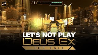 TotalBiscuit brings you an overview of the most recent title in the Deus Ex franchise developed by Eidos Montreal Follow TotalBiscuit on Twitter