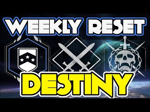 Destiny Weekly Reset January 24 2017 NIGHTFALL SIVA Crisis, Raid Challenge, Bounty, Artifact Reset