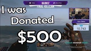 [🔴Live Reaction] I was donated $500 in 1 hour...#SoaRRC @Incredilag @Nudah