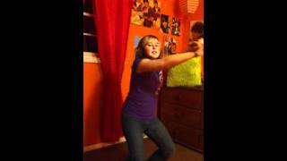 12 Year Old Girl Dancing with No Lessons!!!!!! :)