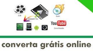 Conversor de Vídeo Online Grátis   converta para vários formatos