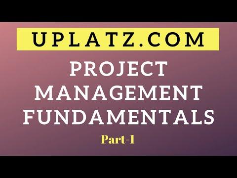 project-management-fundamentals---part-1-|-project-management-training-|-pm-tools-|-uplatz