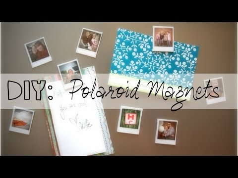 Diy photo magnets mothers day