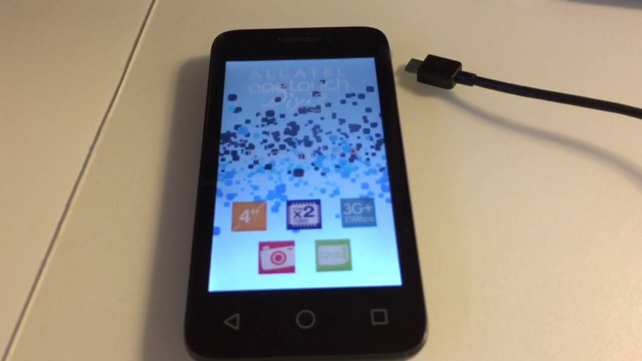 ALCATEL ONETOUCH PIXI 3(4) FLASHING / REPAIR USING FURIOUSGOLD