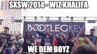 Wiz khalifa and taylor gang sxsw 2014 - we dem boyz (hold up) live bootleg kev showcase