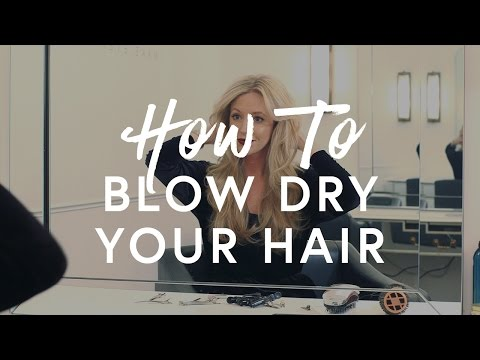 How To Blow Dry Your Hair | The Zoe Report By Rachel Zoe