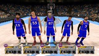 NBA 2K18 PRO AM HITTING ELITE 2 WITH MOVIE GAMING TV
