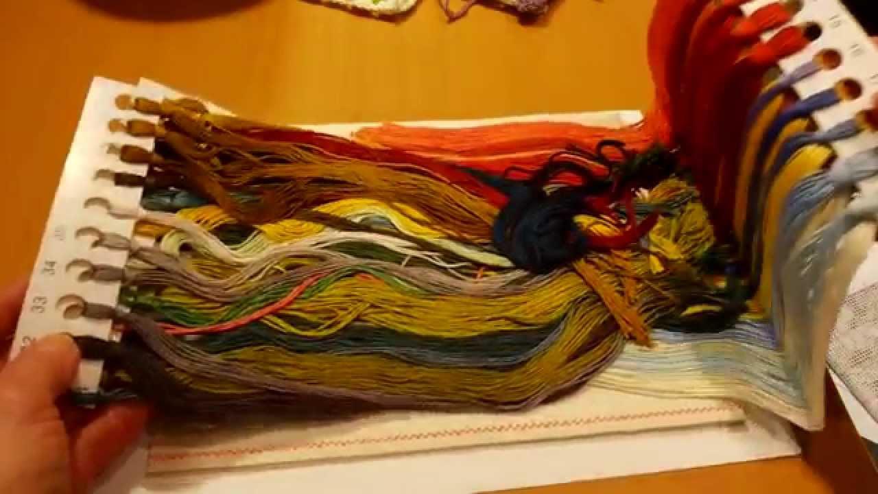 Осенний марафон вышивка купить